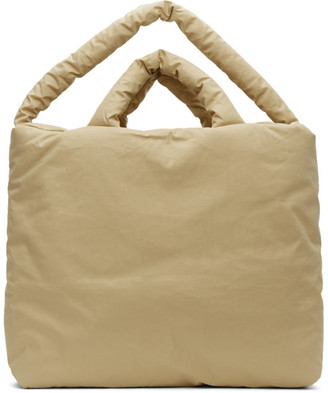 Kassl Editions Beige Large Trench Bag
