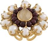 Goossens Perle Baroque floral ring