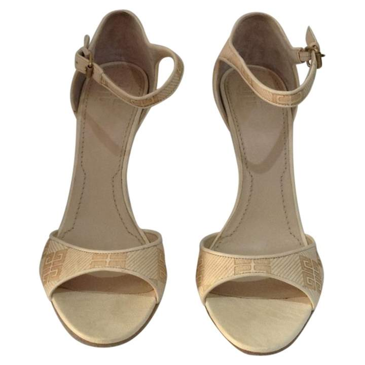 Givenchy Beige Leather Heels