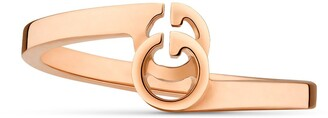 Gucci GG ring in rose gold