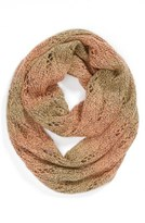 David & Young Ombré Pointelle Infinity Scarf (Juniors) (Online Only)