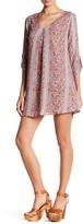 Lush 3/4 Length Sleeve Shift Dress