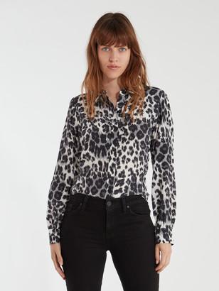 Diane von Furstenberg Mariah Button Up Shirt