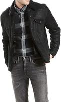 Levi's Shearling Trucker Jacket, Black