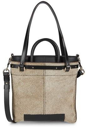 Proenza Schouler Multi-Strap Calf Hair Shoulder Bag