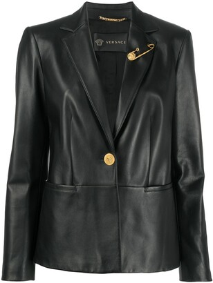 Versace Slim Fit Blazer