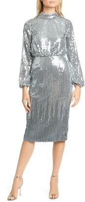 Ted Baker Sequin Long Sleeve Dress