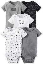 Carter's 5-Pk. Cotton Baby Bear Bodysuits, Baby Boys (0-24 months)
