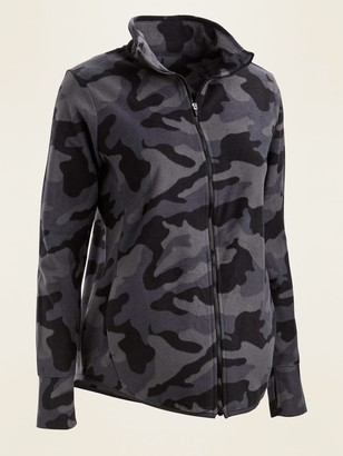 Old Navy Maternity Go-Warm Performance Fleece Zip-Front Jacket
