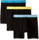 Calvin Klein Men's 3 Pack Cotton Stretch Boxer Brief
