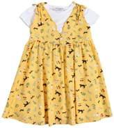 Vivetta Cotton Jersey T-Shirt & Poplin Dress