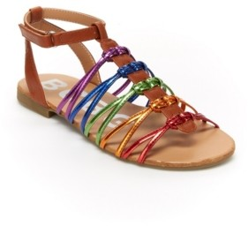 BCBGMAXAZRIA Little Girls Cali Fashion Sandal