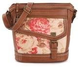 b.ø.c. Amherst Floral Crossbody Bag