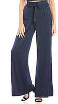 Gianni Bini Emerson Satin Wide Leg Pant
