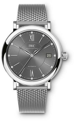 IWC Portofino Stainless Steel Mesh Bracelet Watch