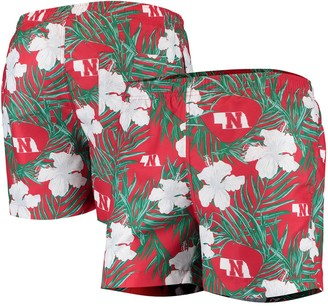 Men's Scarlet Nebraska Cornhuskers Swimming Trunks