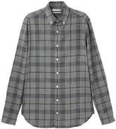 Mango Slim-fit Checked Cotton Shirt