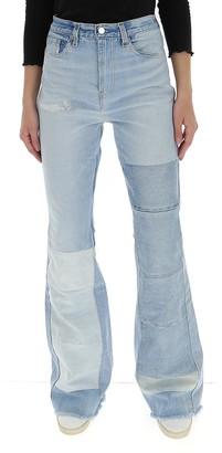 Amiri High Rise Flared Jeans