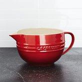 Crate & Barrel Le Creuset ® Cerise Red Batter Bowl