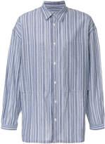 E. Tautz striped Lineman shirt