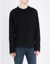 James Perse Crewneck Cotton-jersey Sweatshirt