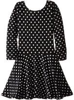 fiveloaves twofish Judy in Dots Dress (Little Kids/Big Kids)
