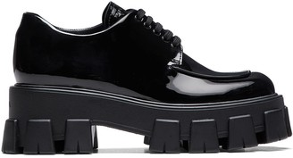 Prada Chunky Sole Derby Shoes