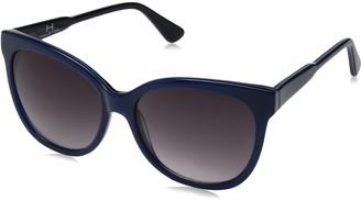 H Halston Women's Hh 640 Cat Eye Fashion Designer Uv Protection Sunglasses