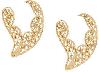 Gas Bijoux Paule filigree earrings