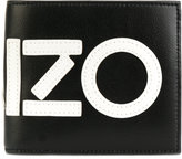 Kenzo appliquéd wallet - men - Leather/Nylon - One Size