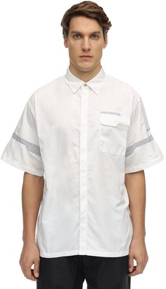 C2H4 Paneled S/s Shirt W/pocket