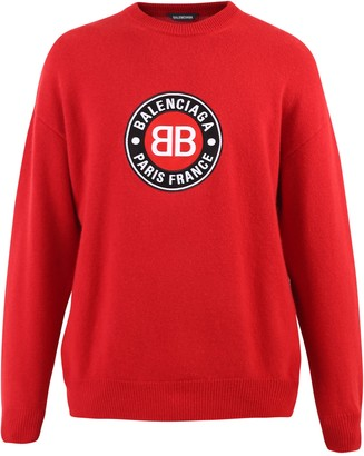Balenciaga Branded Sweater