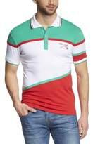 Cipo & Baxx Men's C-5338 POLO Button Front Short Sleeve Polo Shirt