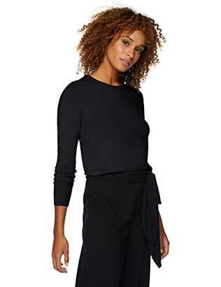 Lark & Ro Women's Long Sleeve Crewneck Sweater