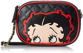 Loungefly Betty Boop Quilted Gold Chain Cross Body