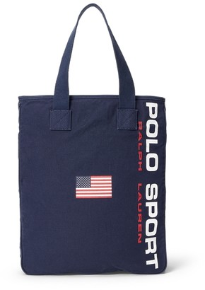 Ralph Lauren Canvas Polo Sport Tote