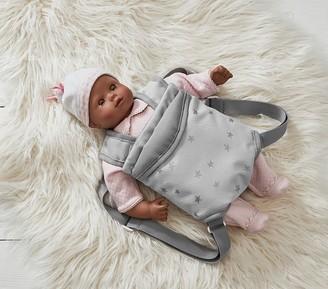 Pottery Barn Kids Gotz Baby Doll Natasha Gray Star Carrier Bundle Set