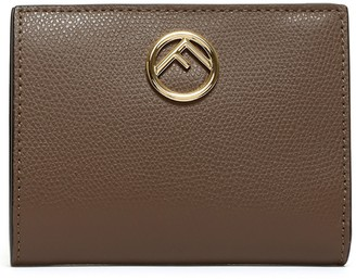 Fendi Logo Plaque Wallet