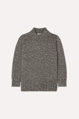 The Row Edmund Mélange Cashmere Sweater - Gray