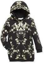 Givenchy Baby's Breath Hooded Sweatshirt Dress, Size 4-5