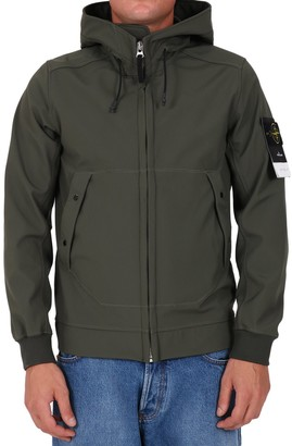 Stone Island Soft Shell Hooded Jacket