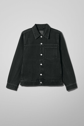 Weekday Core Denim Jacket - Black