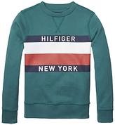 Tommy Hilfiger Boys' Long Sleeve Crew Neck Sweatshirt