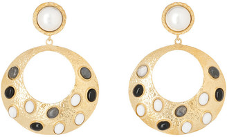 Christie Nicolaides Salsa Earrings Black/White