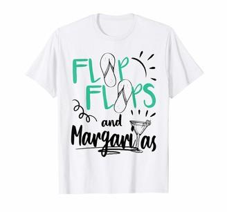 Margaritas Flip flops Summer Vacation Beach Apparel Gift