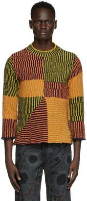 Eckhaus Latta Multicolor Jerome Uni Sweater