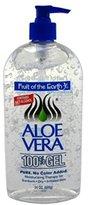 Fruit of the Earth 100% Aloe Vera 24oz Gel Pump (2 Pack)