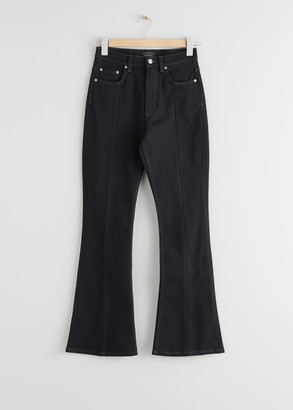 And other stories High Rise Flared Jeans