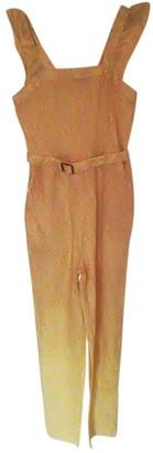 A.P.C. Yellow Cotton Jumpsuit for Women