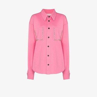 Natasha Zinko Stud Embellished Jacket